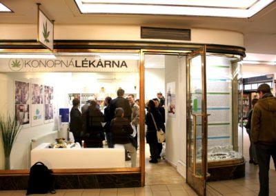 Otevření Konopné lékárny